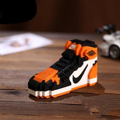 Details about Air Jordan 1 Shattered Backboard Sneaker Lego Bricks