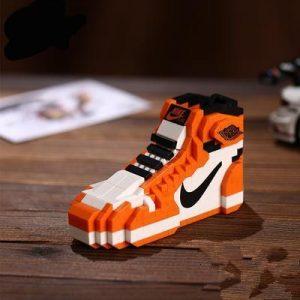 "Air Jordan 1 ""Black Toe"" Sneaker LEGO – Mini Sole Shop"
