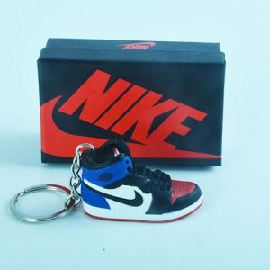 the latest da278 3db4e Air Jordan 1 Top 3 3D Keychain