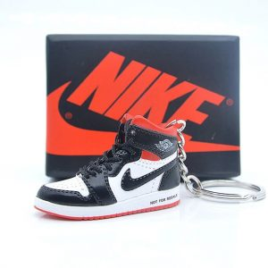 cc84dd9575c Air Jordan 1 Not For Resale Sneaker Keychain Red