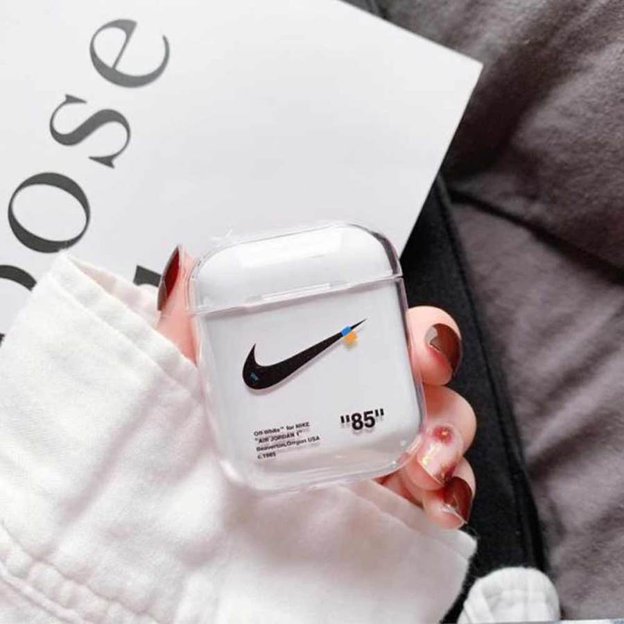 Nike X Offwhite Airpods Case Mini Sole Shop
